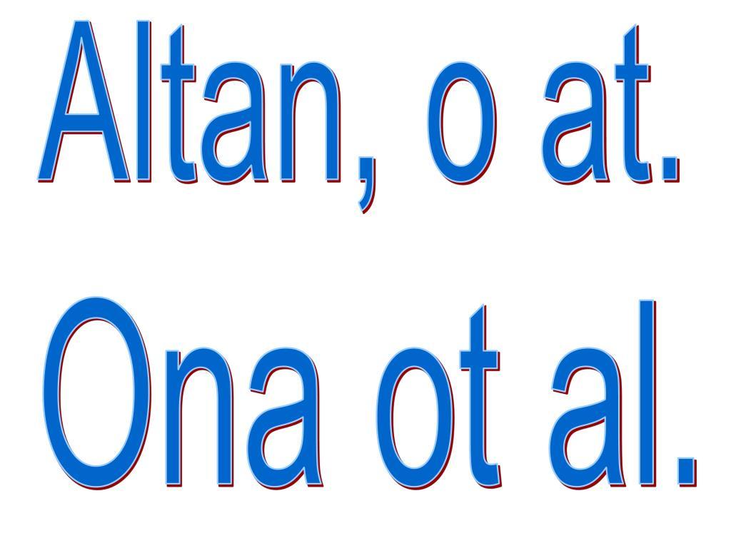 Altan, o at.
