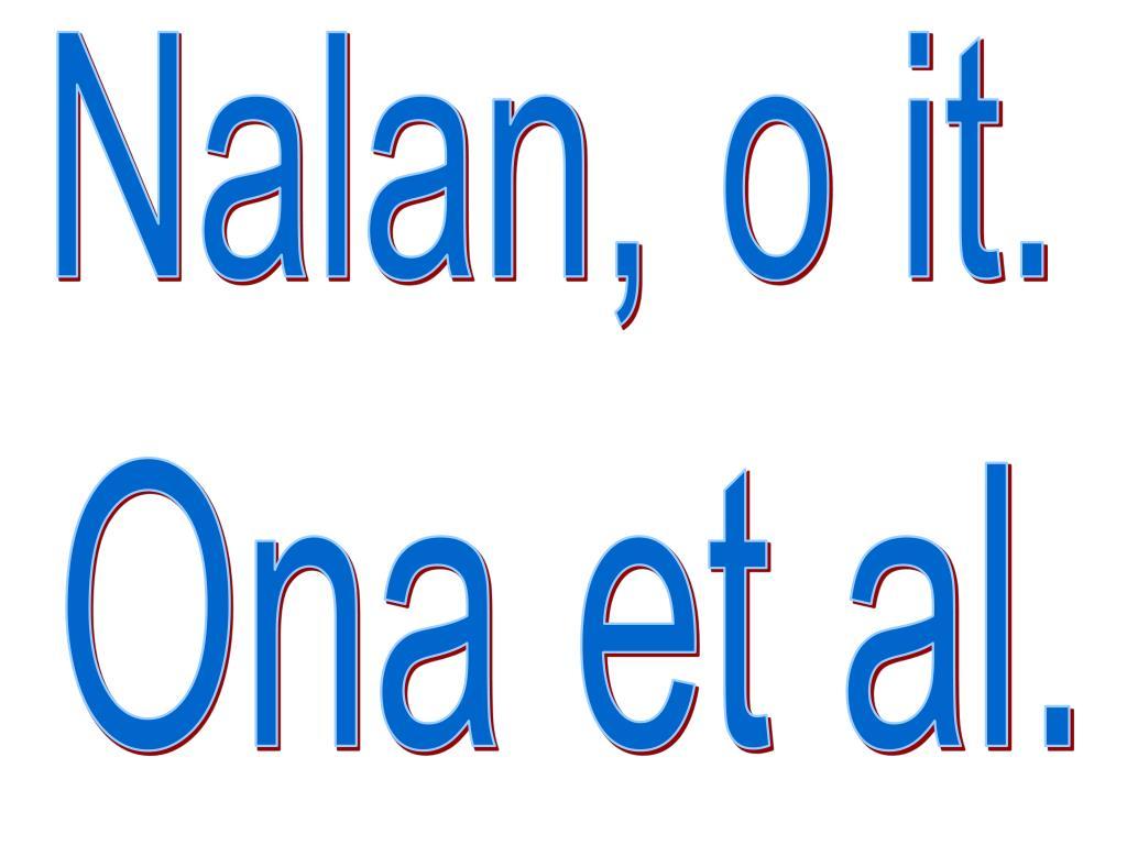 Nalan, o it.