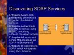 discovering soap services