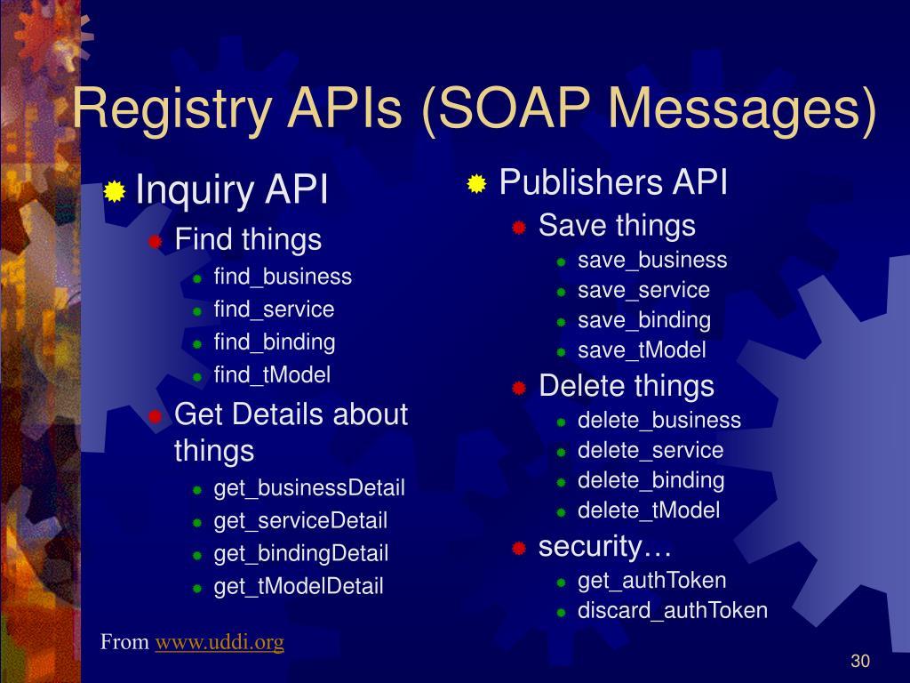 Inquiry API