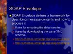 soap envelope