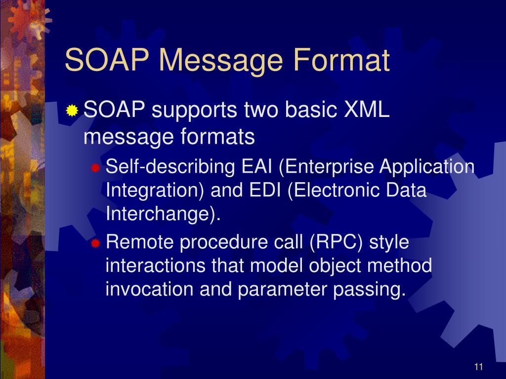 SOAP Message Format