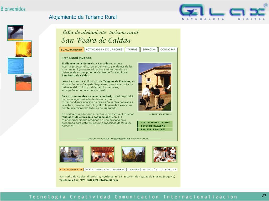 Alojamiento de Turismo Rural