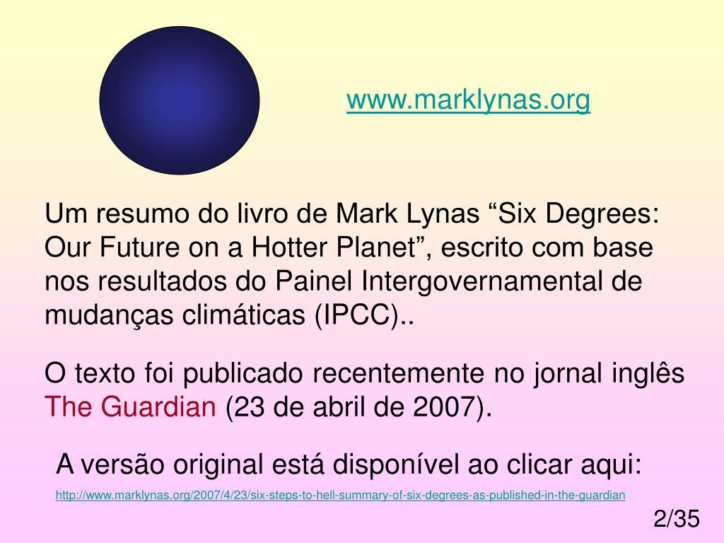 www.marklynas.org