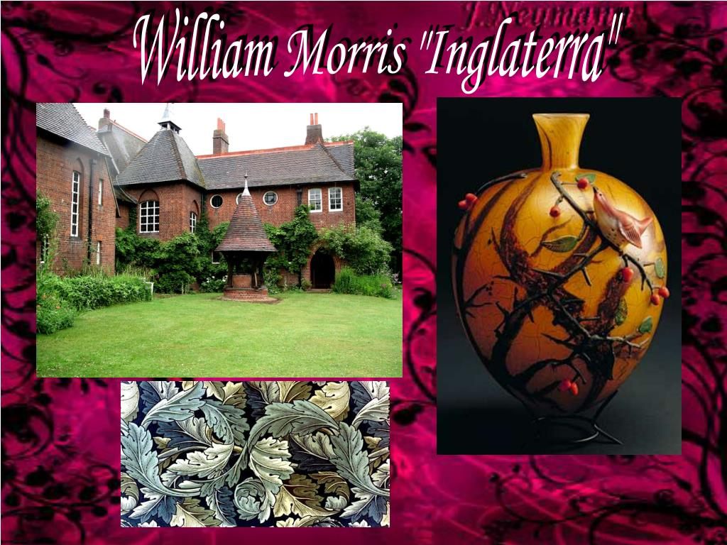 "William Morris ""Inglaterra"""