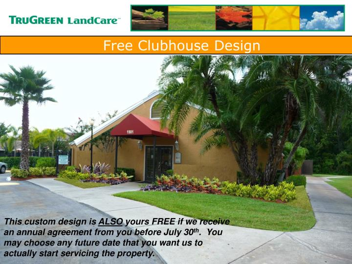 Free Clubhouse Design
