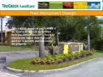 free monument design