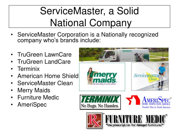 ServiceMaster, a Solid