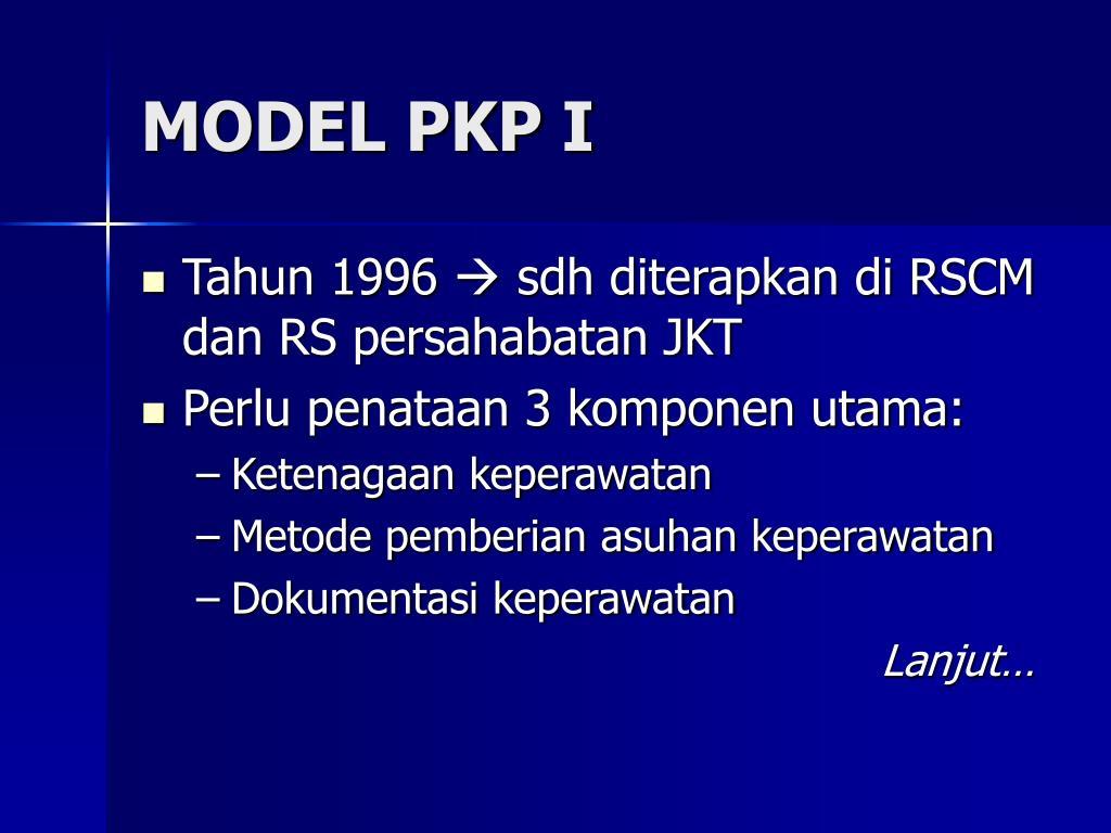 MODEL PKP I