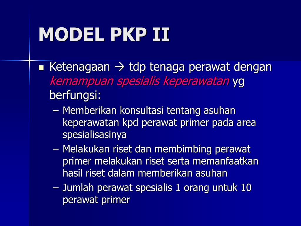 MODEL PKP II