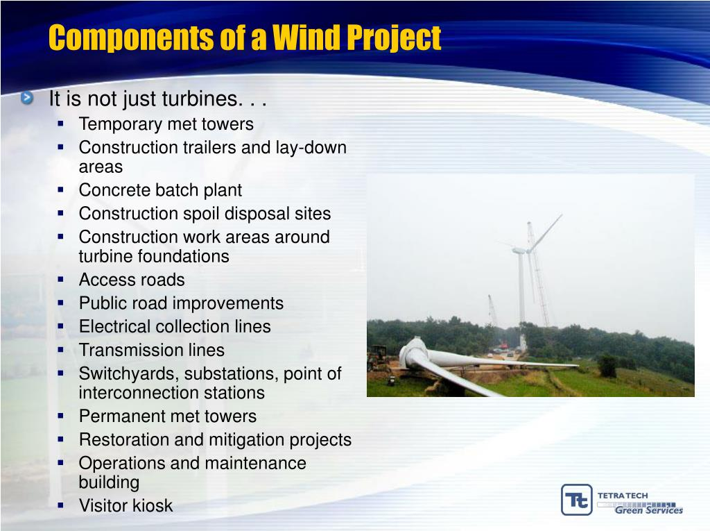 Components of a Wind Project