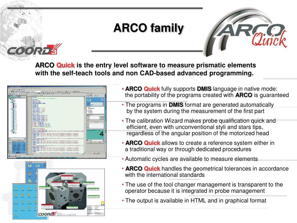 ARCO family