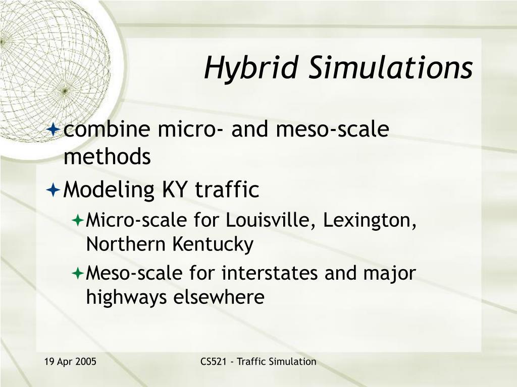 Hybrid Simulations