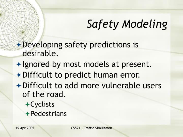 Safety modeling l.jpg