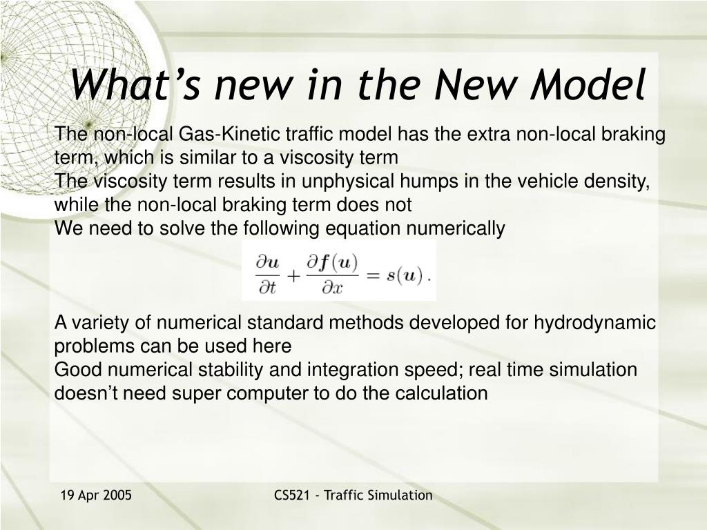 What's new in the New Model