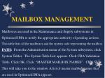 mailbox management2