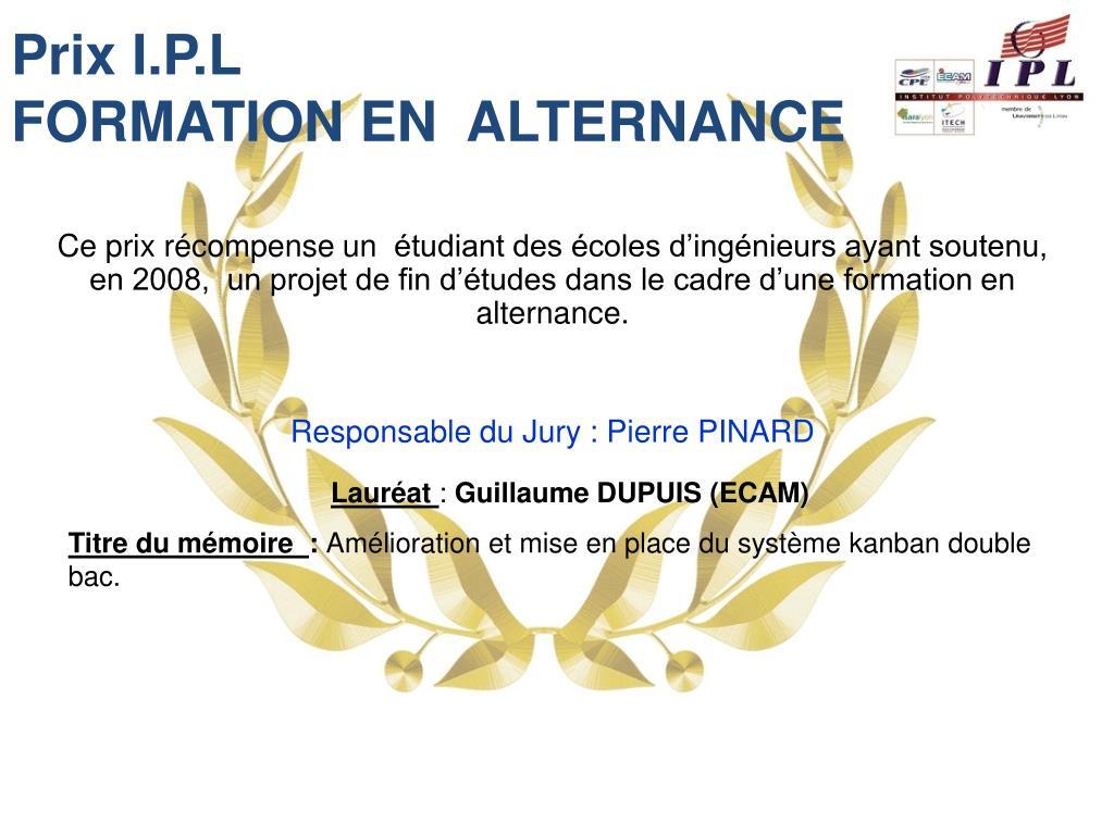 Prix I.P.L