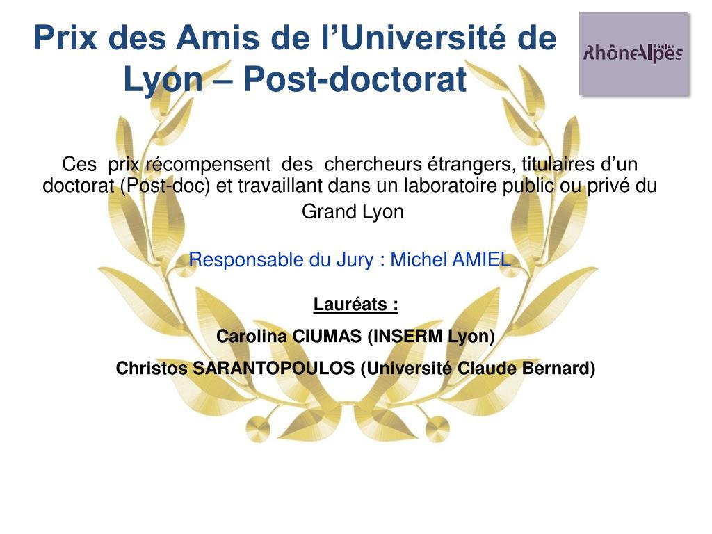 Prix des Amis de l'Université de