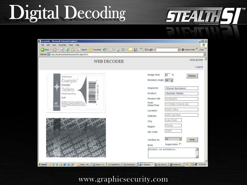 Digital Decoding