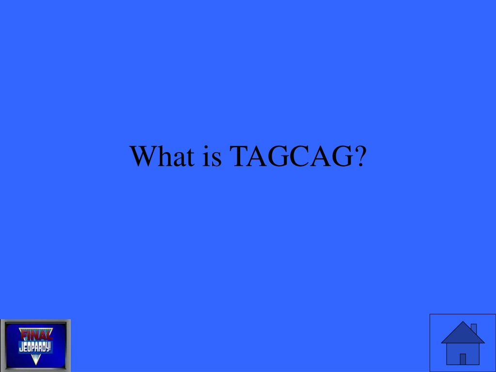 What is TAGCAG?