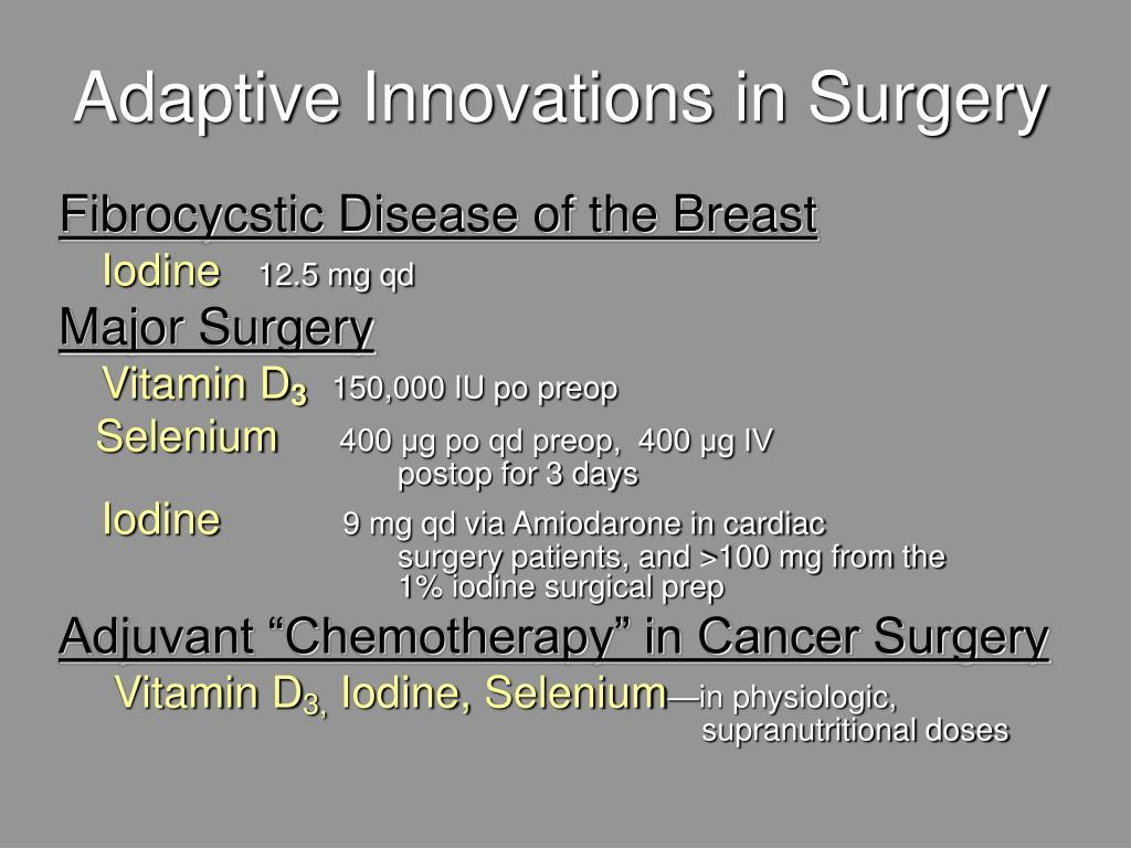 Adaptive Innovations in Surgery