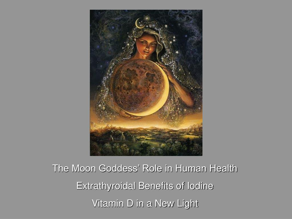 The Moon Goddess' Role in Human Health