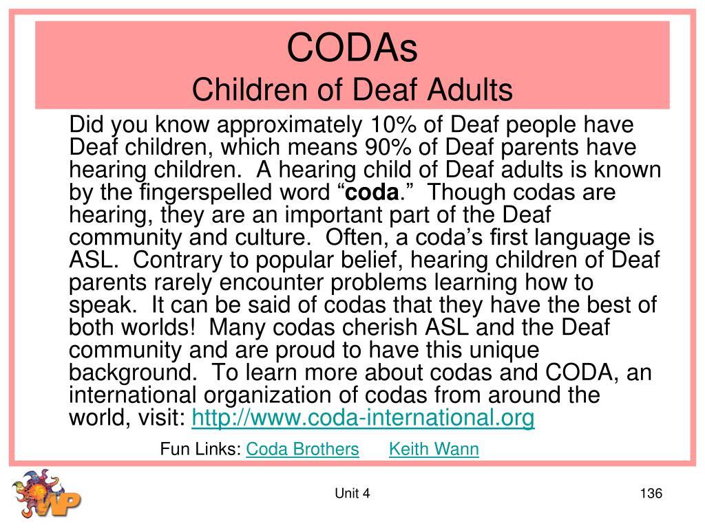 CODAs