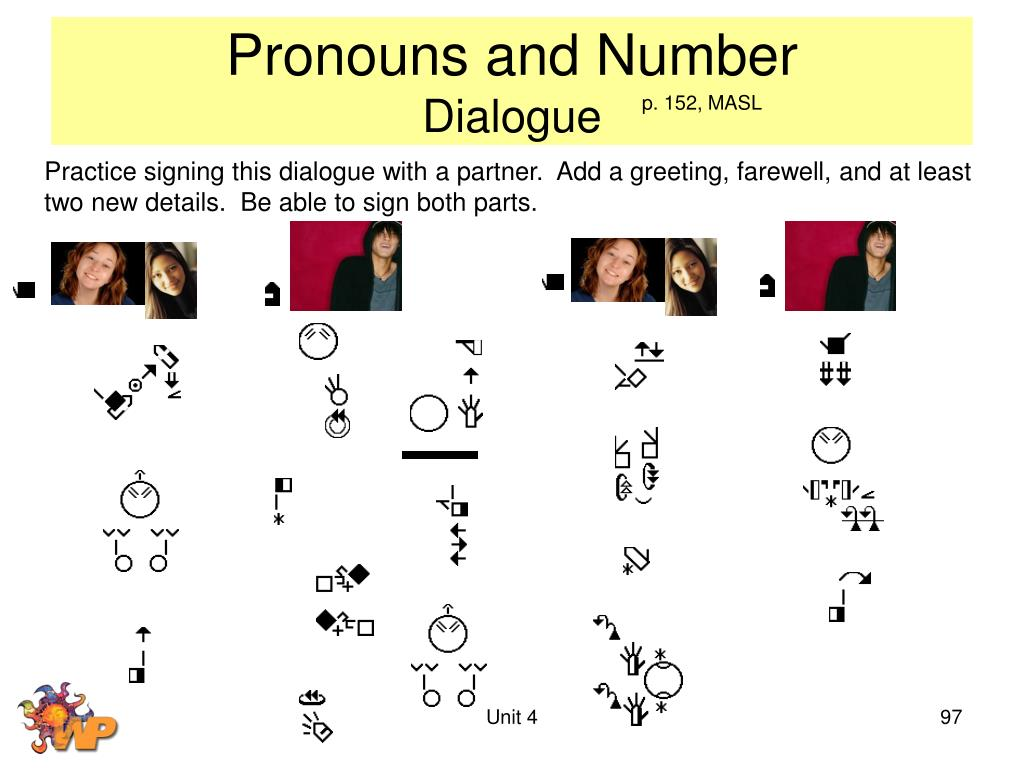 Pronouns and Number