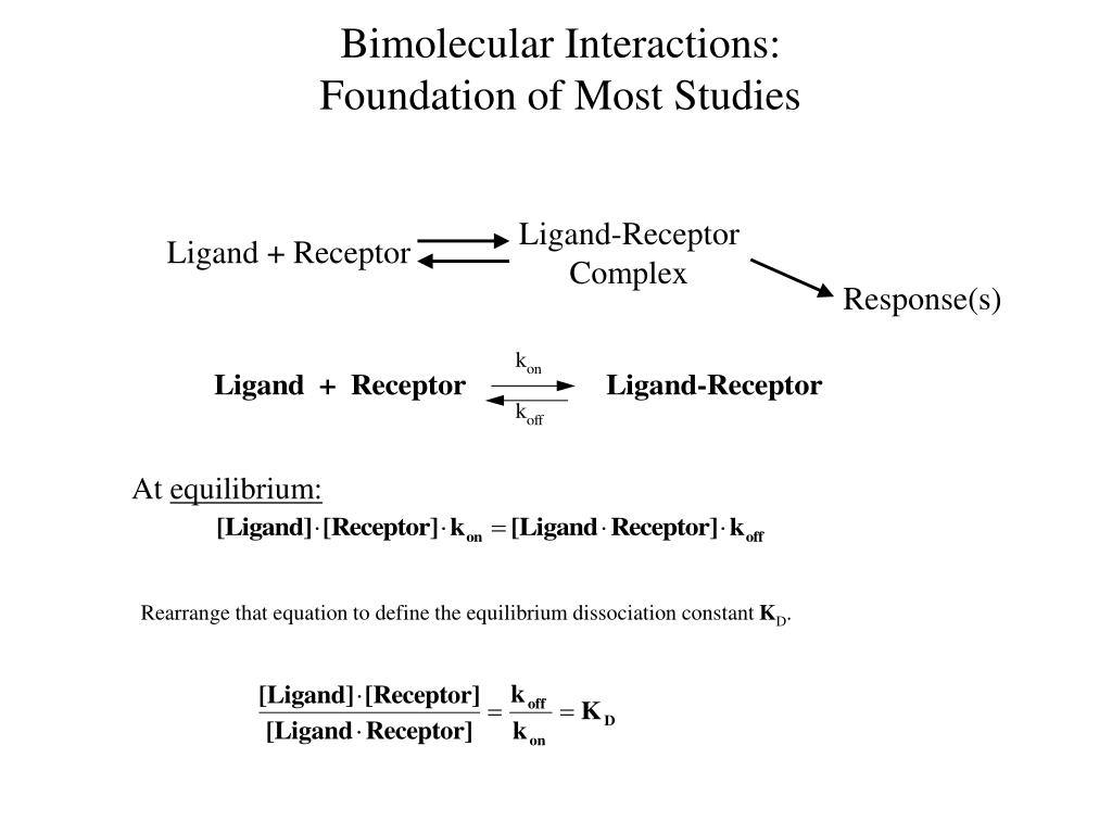 Bimolecular Interactions: