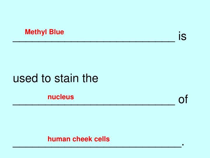 Methyl Blue