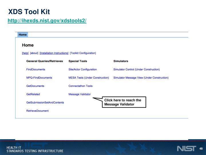 XDS Tool Kit