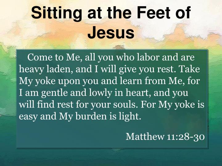 Sitting at the feet of jesus l.jpg