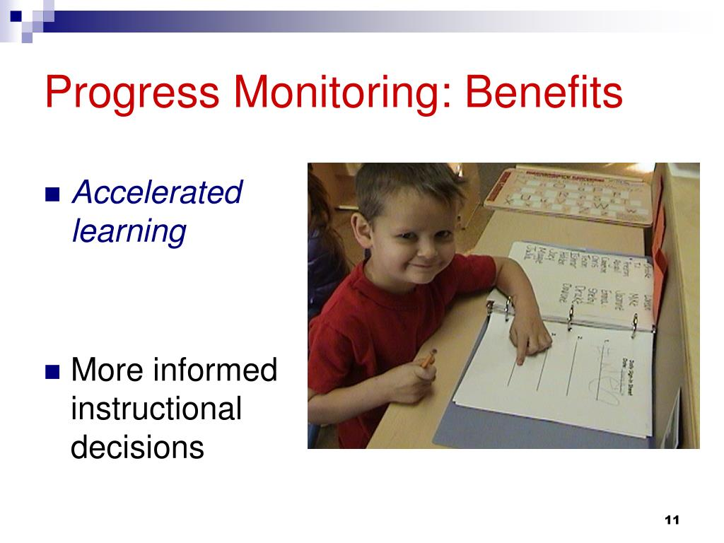 Progress Monitoring: Benefits