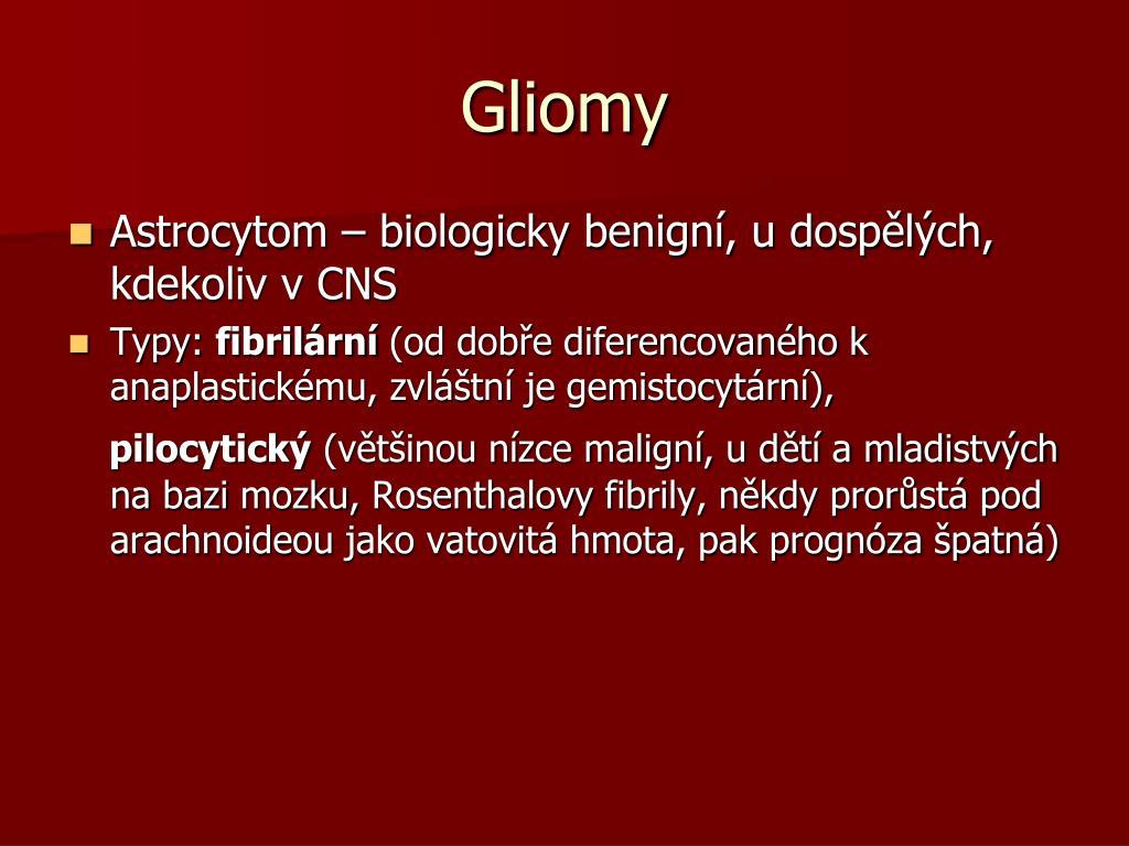 Gliomy