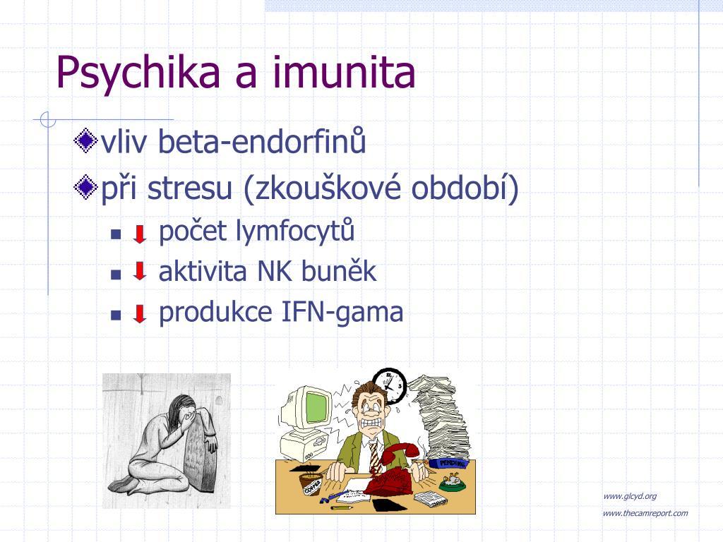 Psychika a imunita