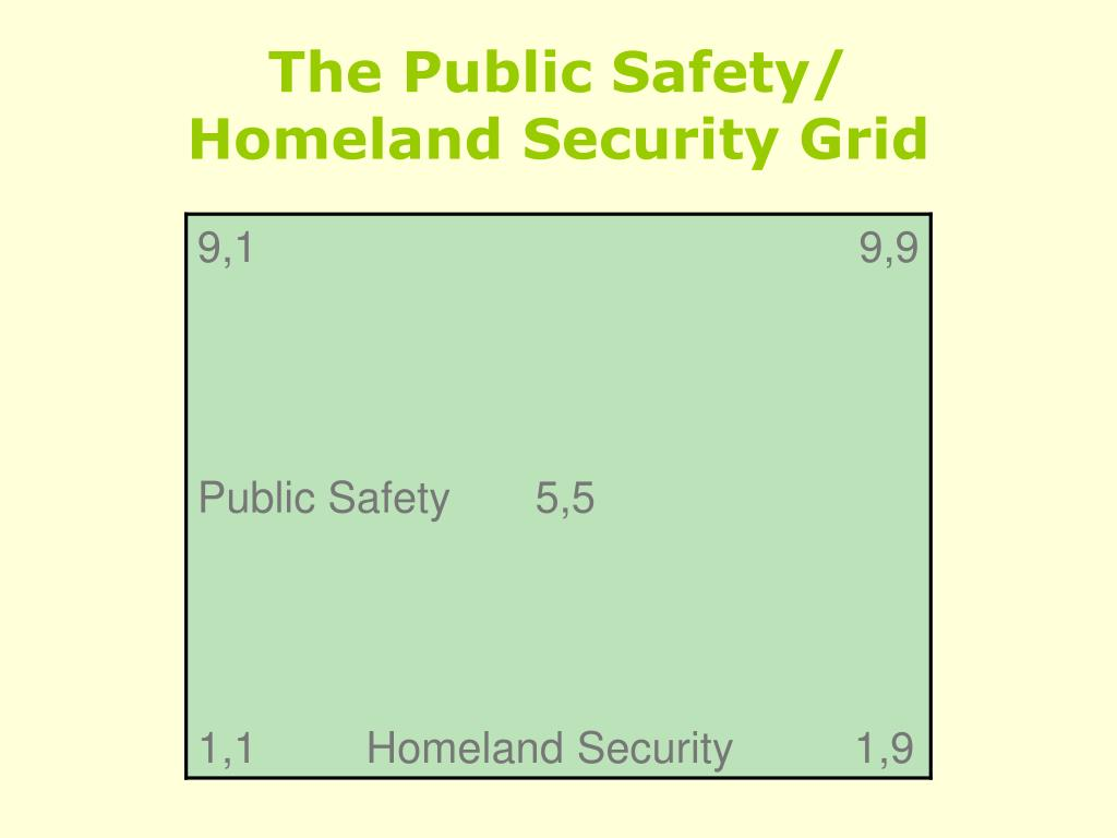 The Public Safety/