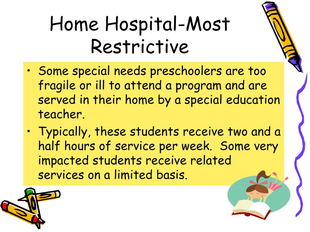 Home Hospital-Most Restrictive