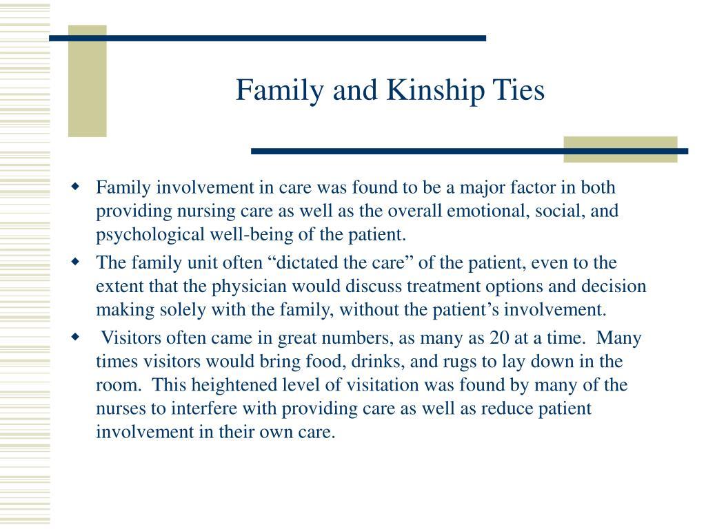Family and Kinship Ties
