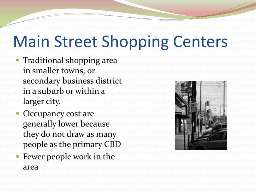 Main Street Shopping Centers
