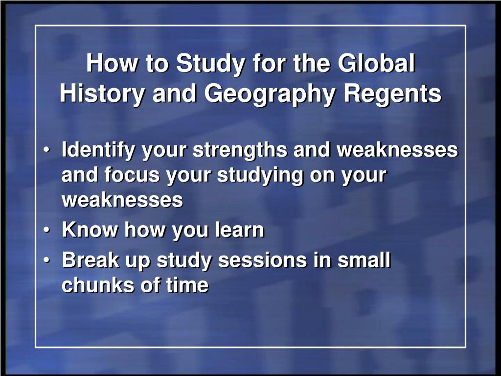 global history thematic essay questions Students take the global regents examination at the end of global studies in the 10th grade and take the united states history and government at the end of the students will be able to demonstrate the ability critically evaluate and make informed decisions about economic, social and political questions confronting the.