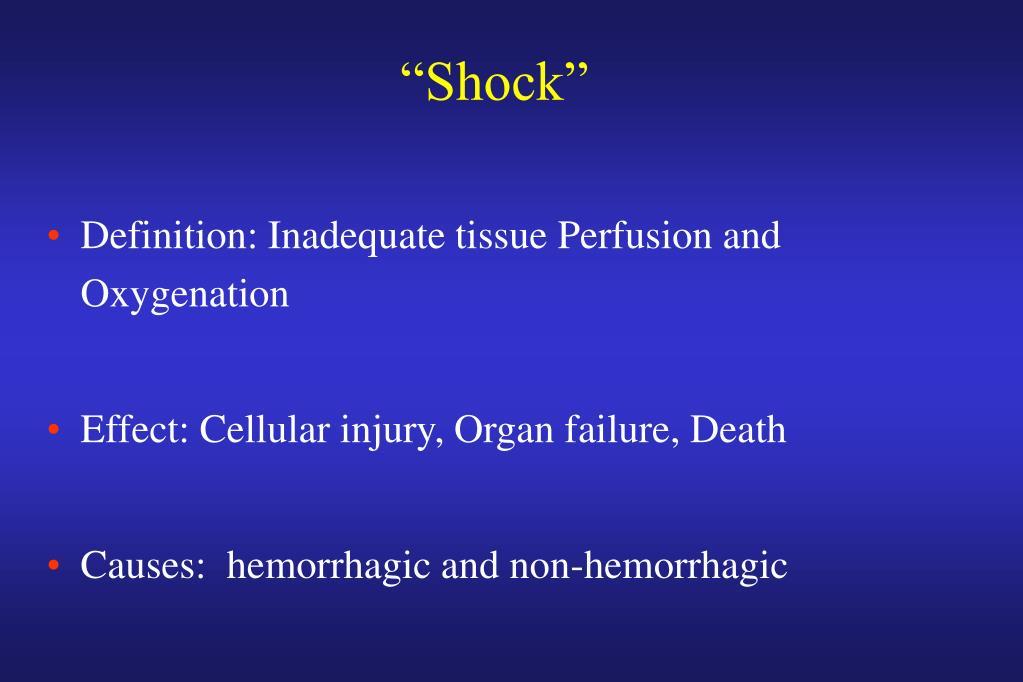 """Shock"""
