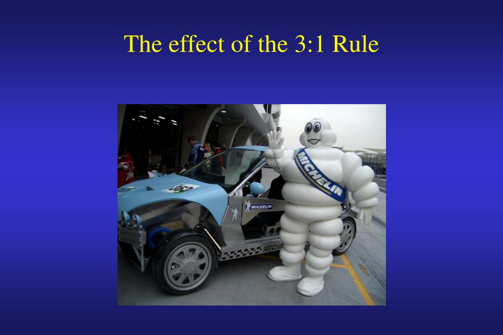 The effect of the 3:1 Rule