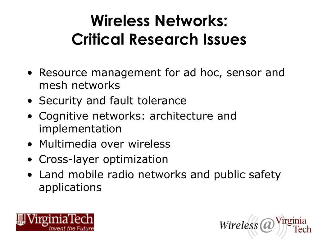 Wireless Networks: