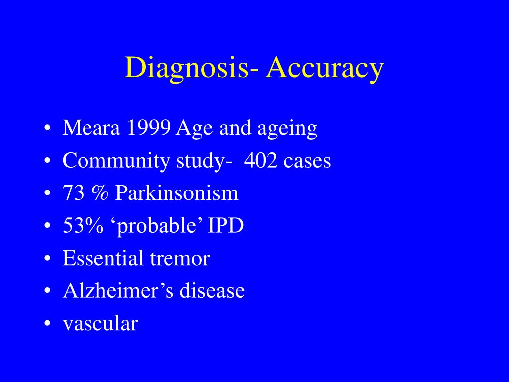 parkinson s disease case study