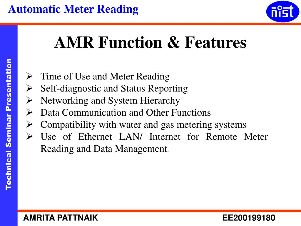 AMR Function & Features