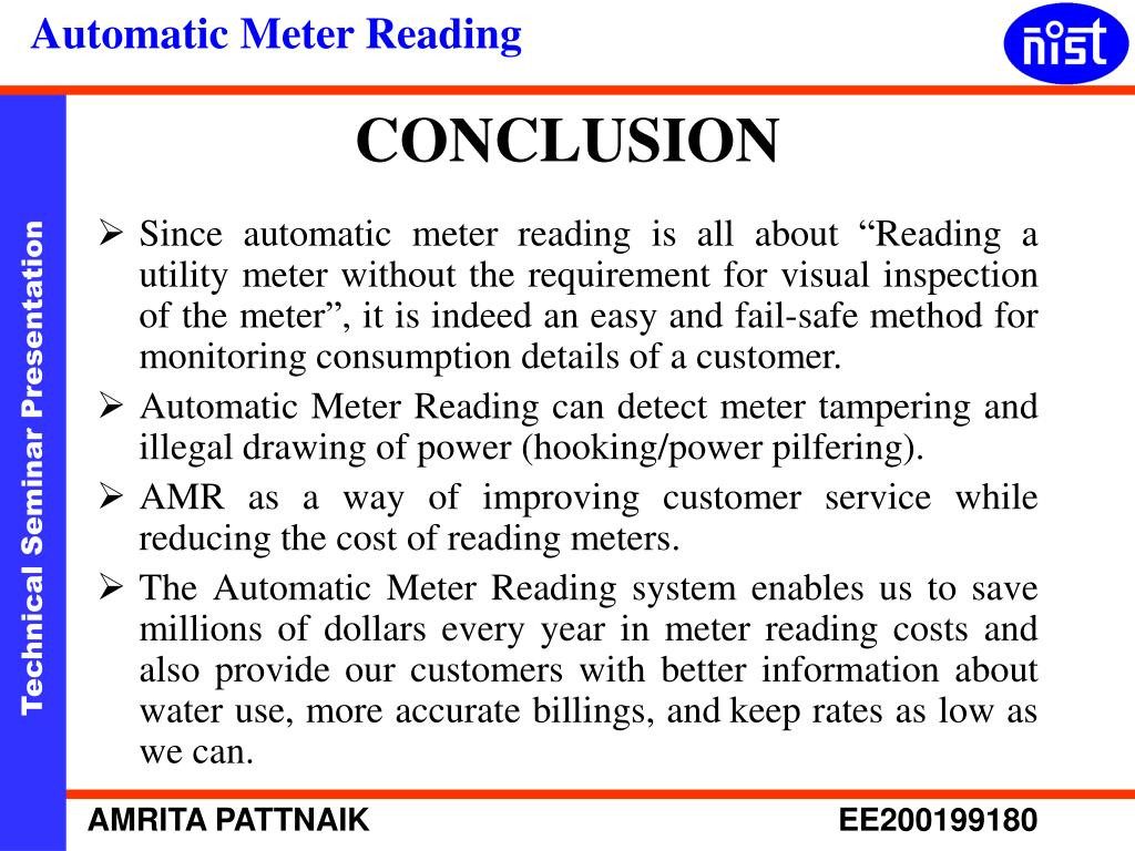 "Since automatic meter reading is all about ""Reading a utility meter without the requirement for visual inspection of the meter"", it is indeed an easy and fail-safe method for monitoring consumption details of a customer."