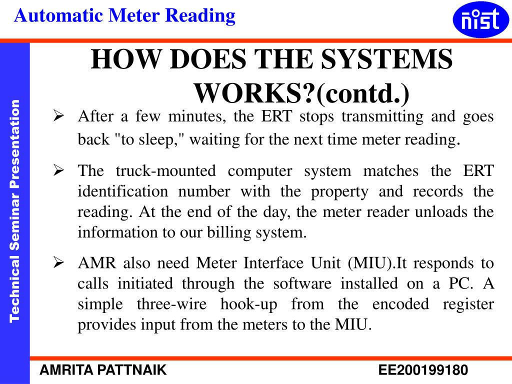 HOW DOES THE SYSTEMS WORKS?(contd.)