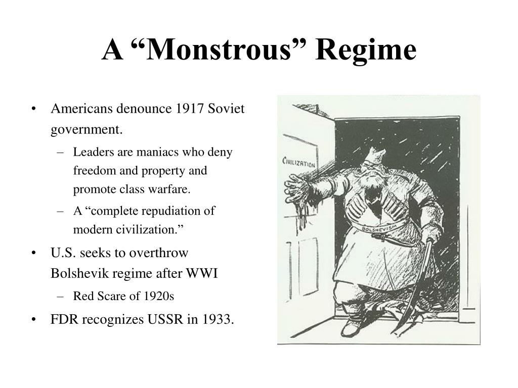 """A """"Monstrous"""" Regime"""