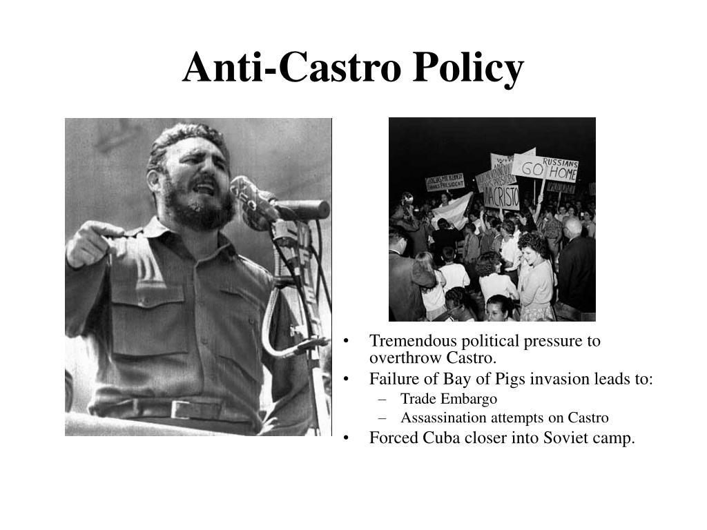 Anti-Castro Policy