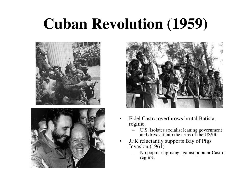 Cuban Revolution (1959)